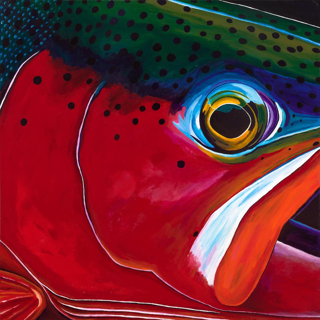 #13 | acrylic on canvas |custom prints available