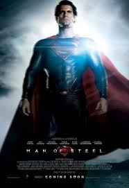 """Then for general """"iron-ness"""", I saw the """"Man of Steel"""" with George and Chris."""