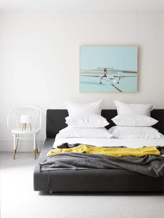 Bedroom styled by Nina Provan at Neometro, Melbourne, Australia | Photography by Toby Scott for  Issue #5 ,  Est Magazine