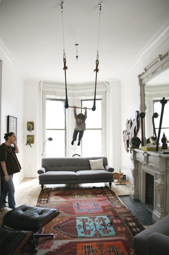 Brooklyn home of Sophie Demenge | Photography byStephanie Deleau, via Martha Stewart Living
