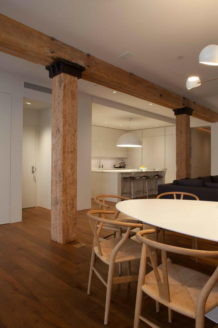 Tribeca loft by  Wettling Architects , via  Remodelista