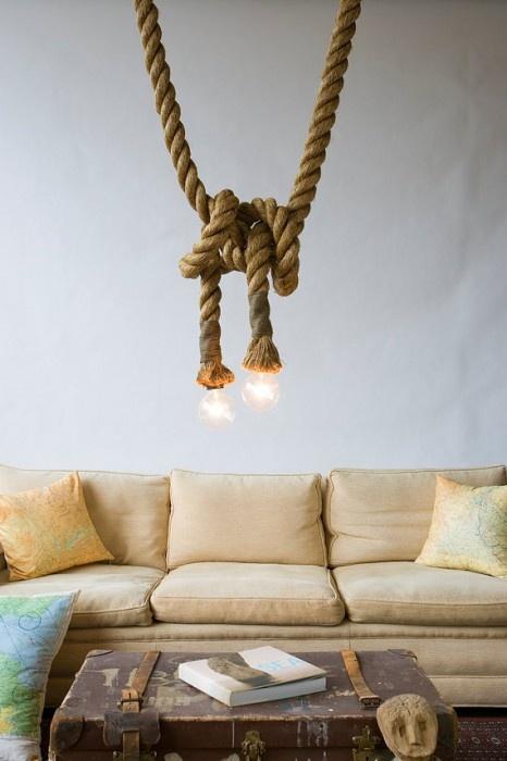 Original Manila Rope Lights,  Atelier 688 via Etsy