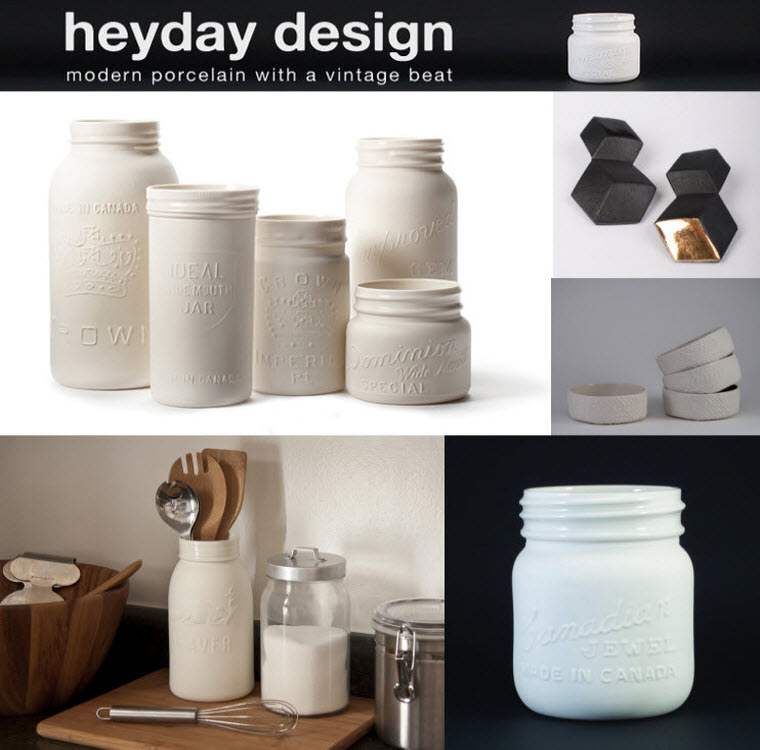 via  heydaydesign.ca  | Items available for purchase  here .