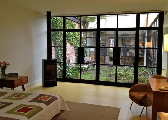 Willow Residence. via Robert Kahn Architect