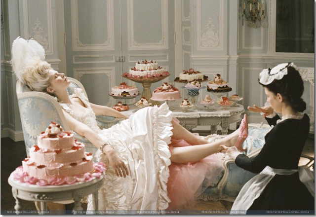 Image from Marie Antoinette Motion Picture (2006)