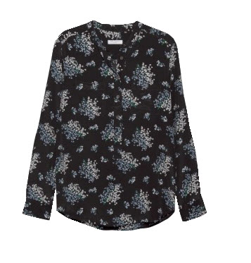 Floral Ava Blouse by Equipment (@Steven Alan), via Google Images