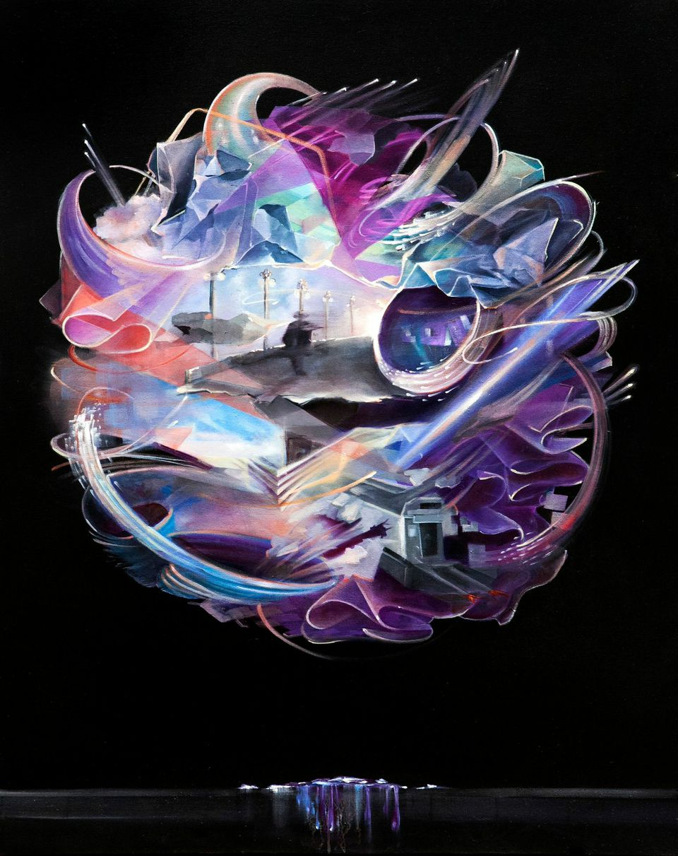  Oil on Canvas  61cm x 76cm  2014 