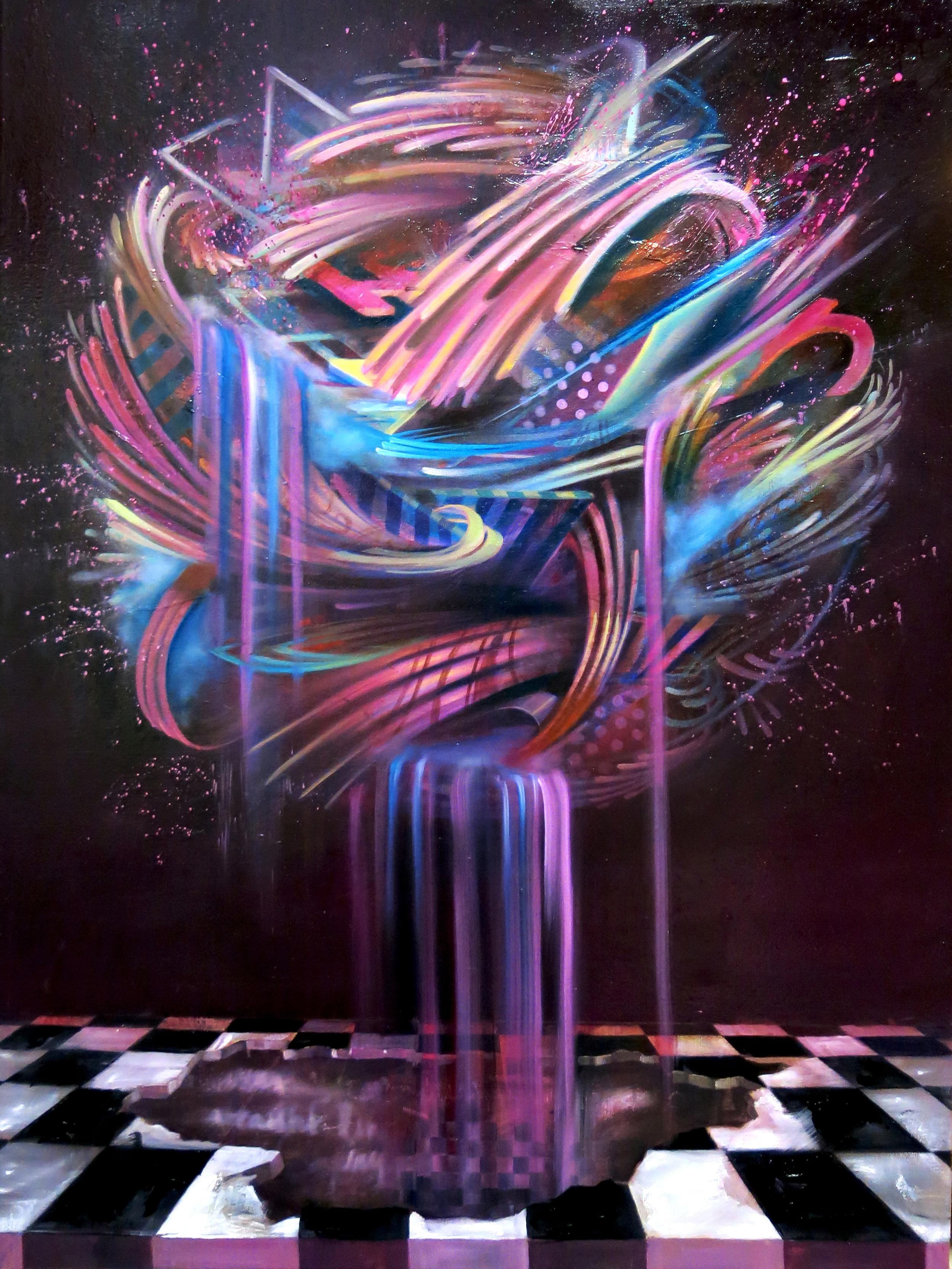 "|Oil on Canvas||30"" x 40""||2015|"
