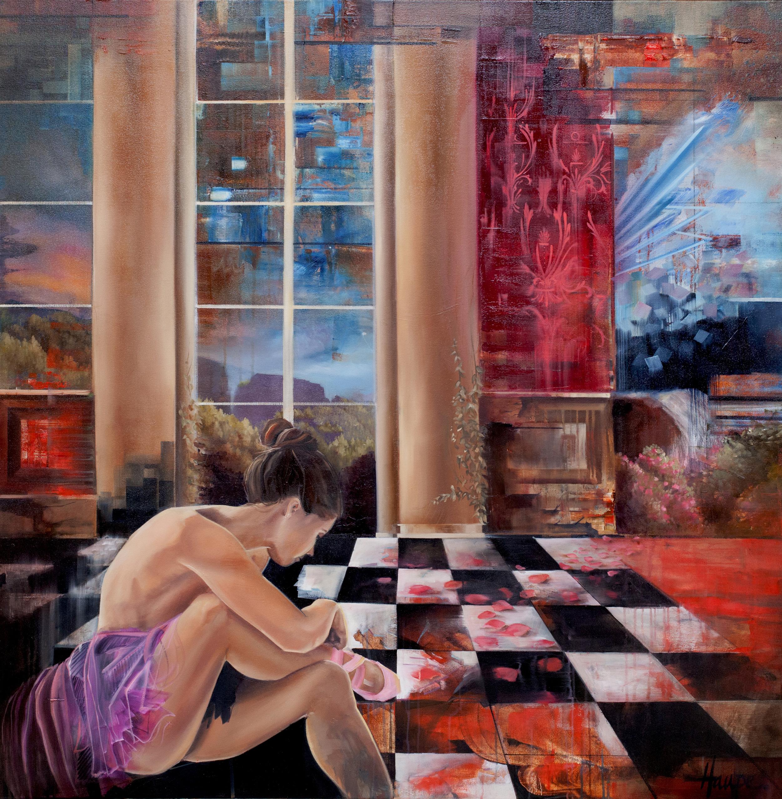 "|Oil on Canvas||48"" x 48""||2016|"