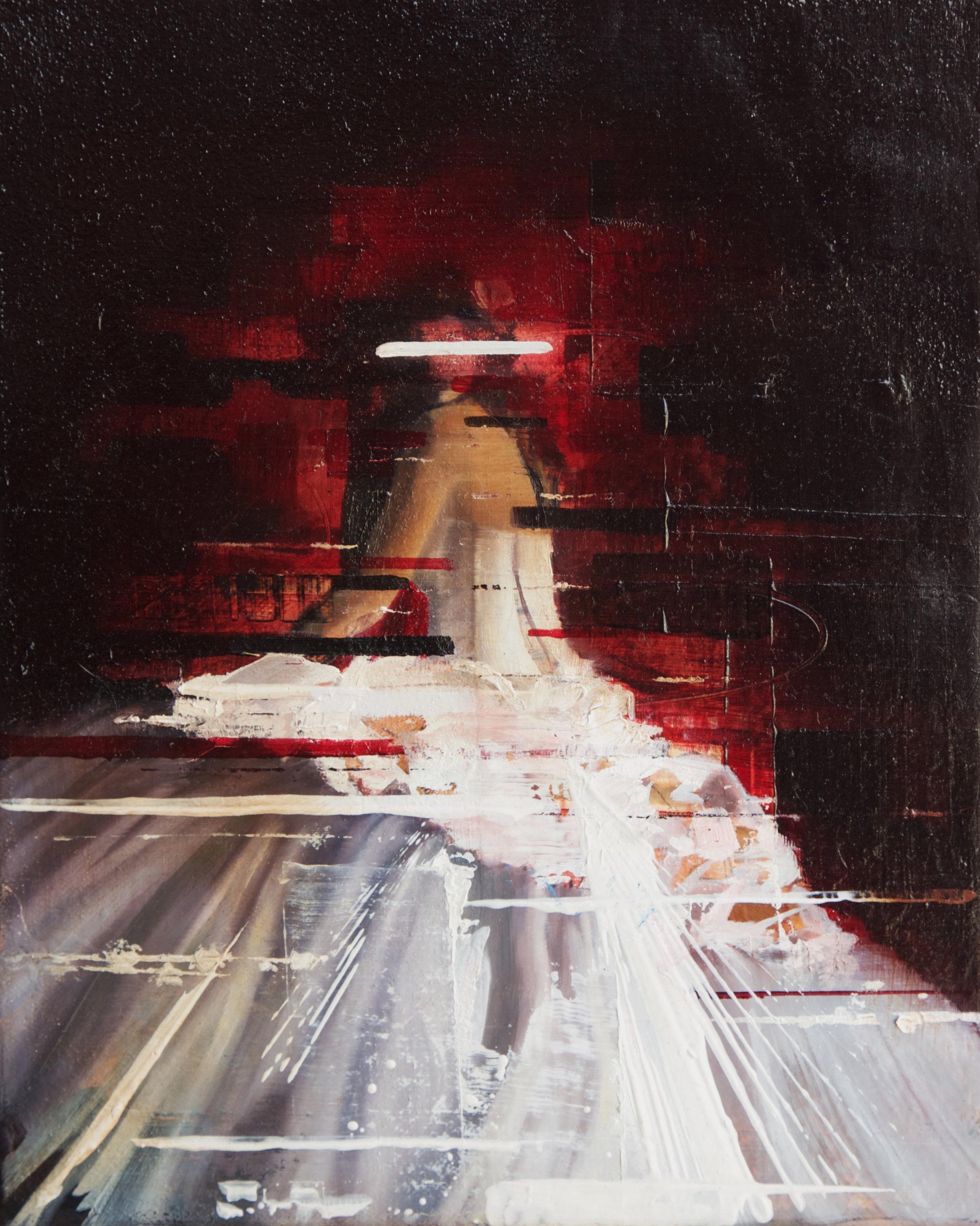"""Elusive  Oil on Canvas  8"""" x 10"""""""