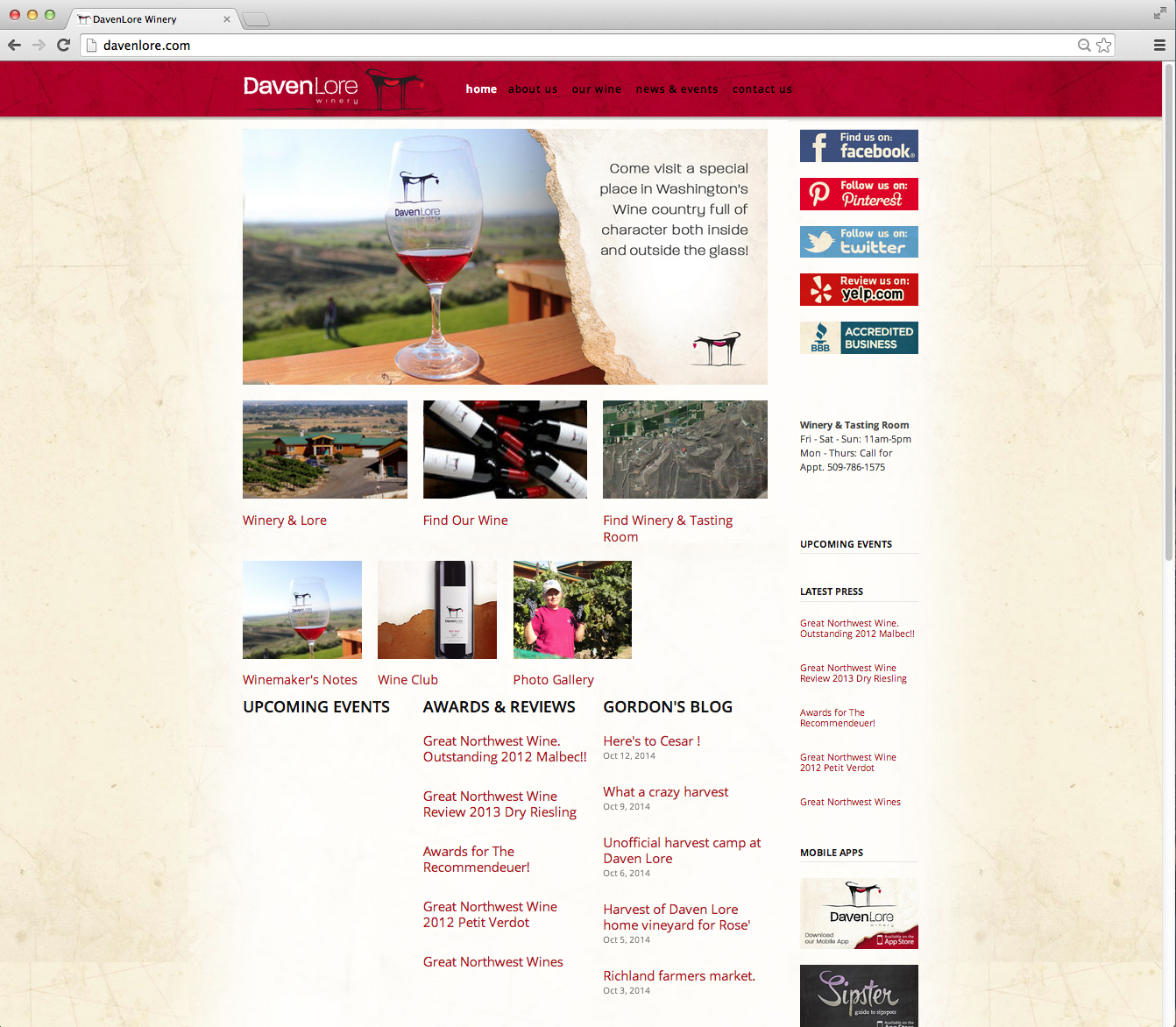 Daven Lore Winery