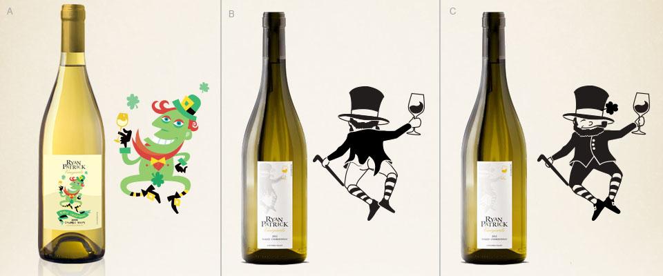 Ryan Patrick Vineyards - Naked Chardonnay Labels