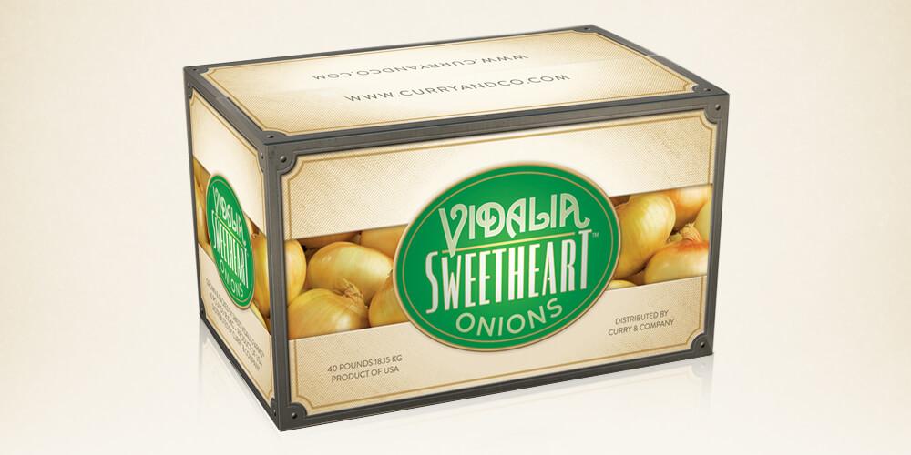 Vidalia Sweet Onions for Curry & Co.