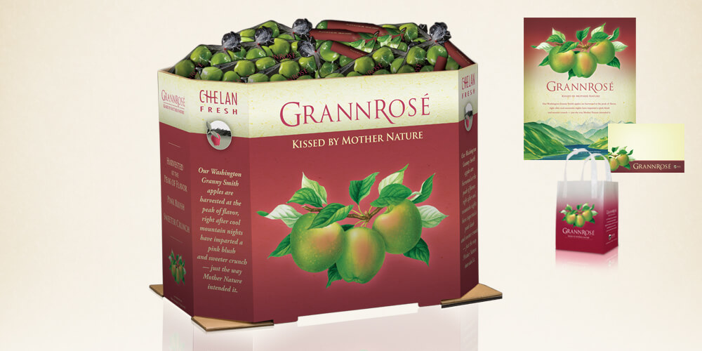 Grannrosé for Chelan Fresh