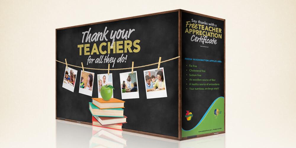 3016 Teacher Appreciation Program for Yakima Fresh