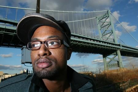 Hezekiah taking a selfie underneath the bridge.jpg