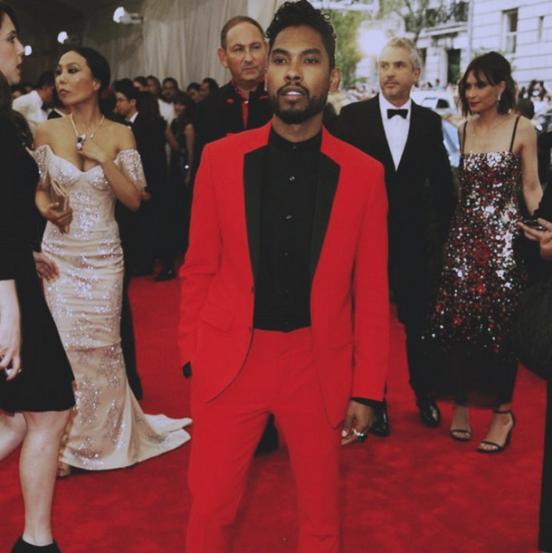 Miguel looking extremely beautiful and gorgeous at the 2015 Met Gala benefit.jpg