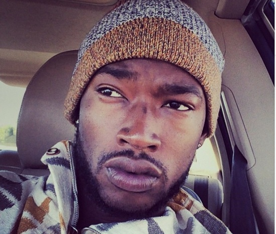 Kevin McCall looking gorgeous in the car.jpg