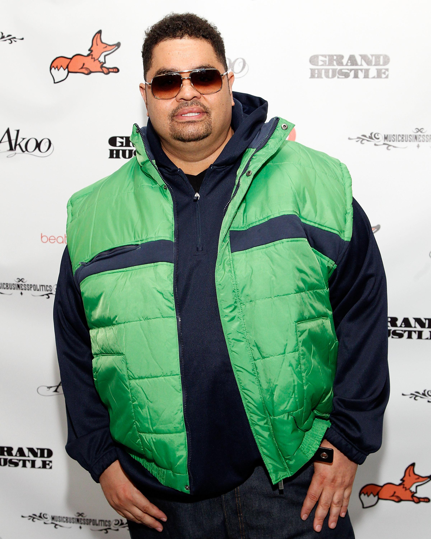 Heavy D looking hot in a kelly green vest.jpg