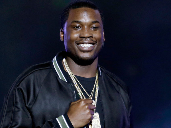 Meek Mill smiling like he just won the olympics.jpg