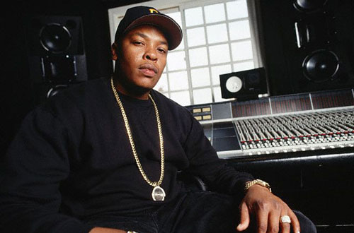 Dr. Dre in the studio looking hot.jpg