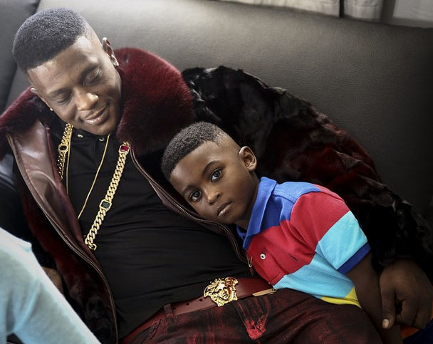 Li'l Boosie looking hot with his son as he continues being a hot dad.jpg