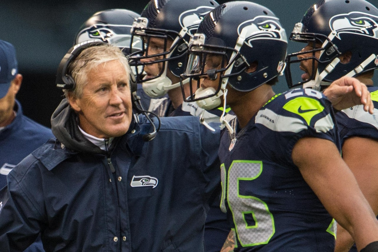 Cary Williams looking hot while talking to Pete Carroll.jpg
