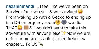 Nazanin Mandi's instagram caption revealing Miguel proposed to her.jpg