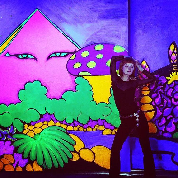 blacklight room in the Wildheart Motel.jpg