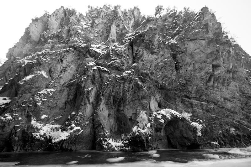 The Big Creek Gorge.