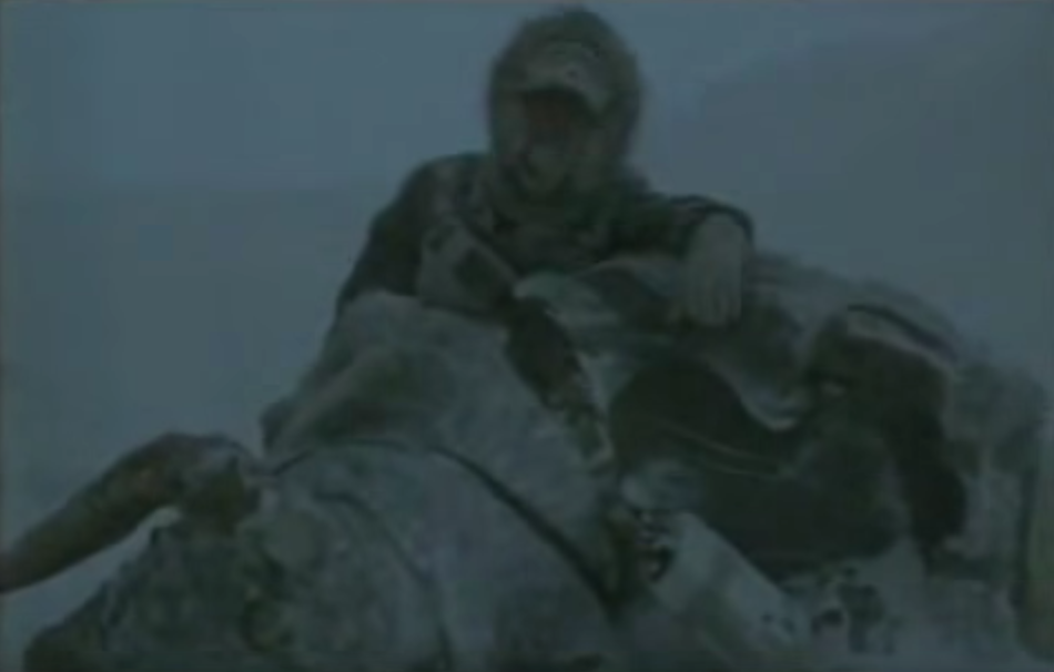 In Empire Strikes Back, Han Solo slices open a dead tauntaun with a light saber and stuffs Luke Skywalker inside to save him from freezing to death.