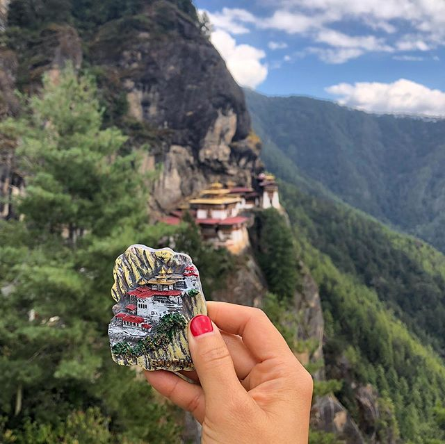 Saving the best hike for last! 🐯 Over 10,000 ft above sea level is the famous cliffside Tiger's Nest Monastery 😱 We were able to explore inside (incredible structure with stunning views) but no photography was allowed. It was a great end to a once in a lifetime experience ❤️🇧🇹 #paro #bhutan #himalayas . . . . . . . . . #wanderlust #adventureseeker #travelmore #goexplore #wonderfulplaces #openmyworld #lovetotravel #travel #landscape #himalayangeographic #adventurethatislife #roamtheplanet #landscapephotography #travelpgotography #topdecker #beautifuldestinations #theglobewanderer #livingmybestlife #fodorsonthego #lonelyplanet #bucketlist #passionpassport #tlpicks #travelblogger #bbctravel #ongooglemaps #travelandlife