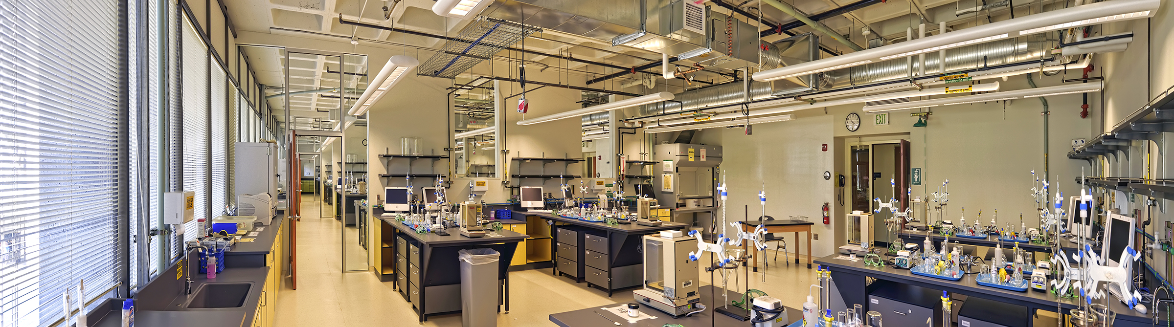 University of Oregon General Chemistry Teaching Labs