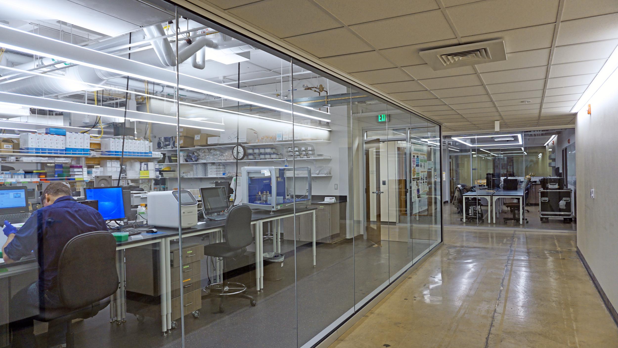 University of Oregon Klamath Lab Core Improvements