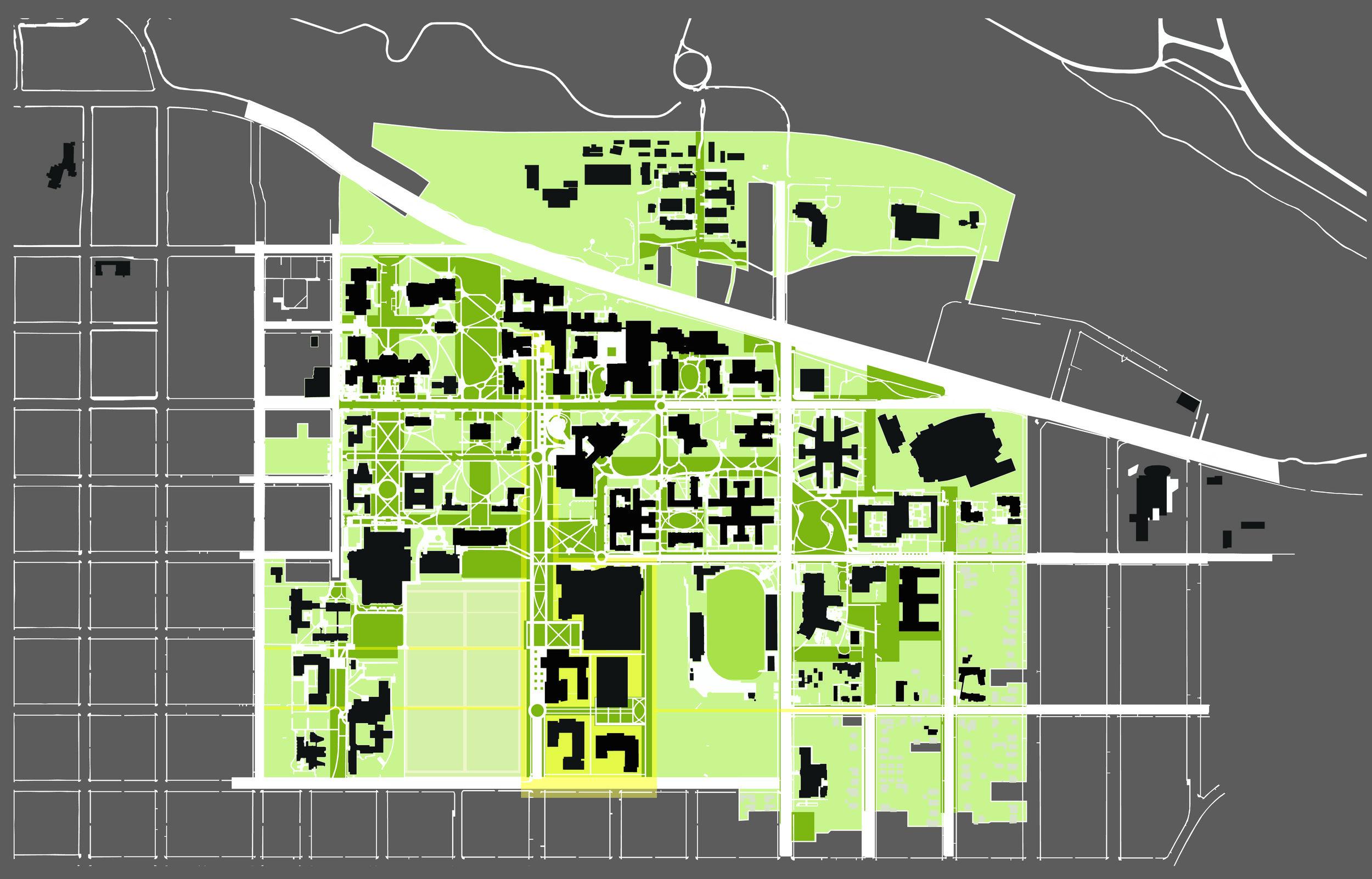 UO University Street Plan