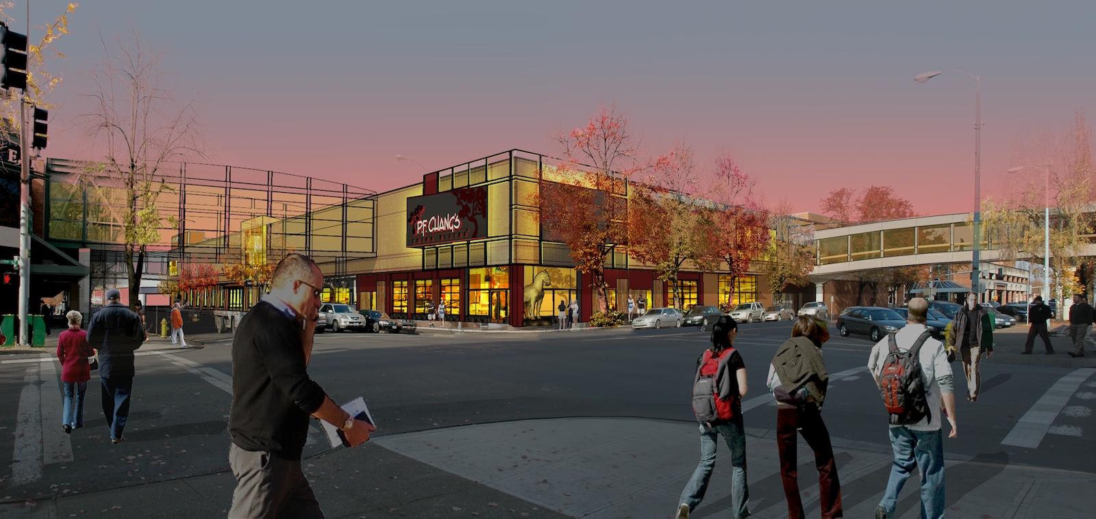 Salem Center Mall Planning