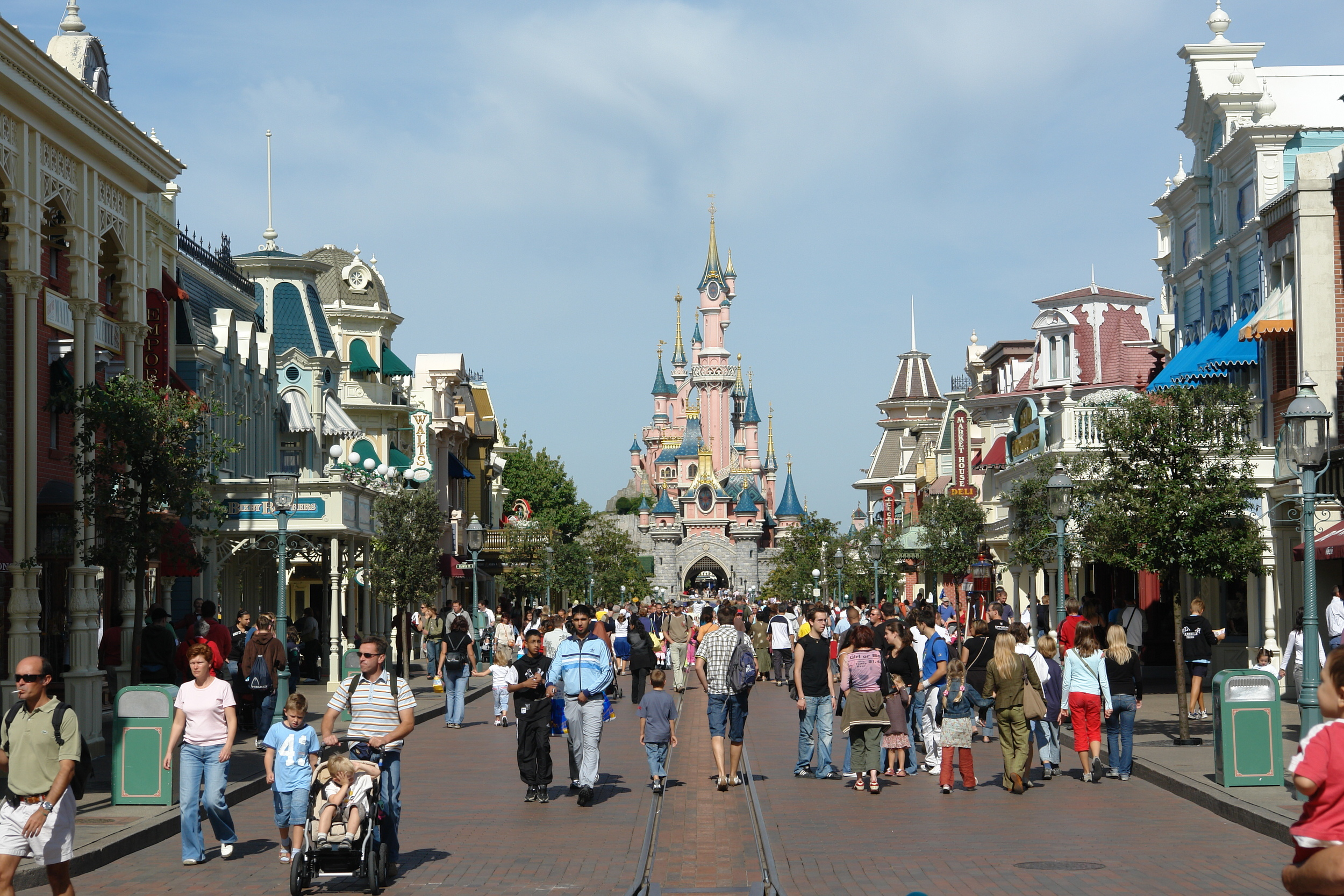 Main Street - Disneyland Paris  Paris, France