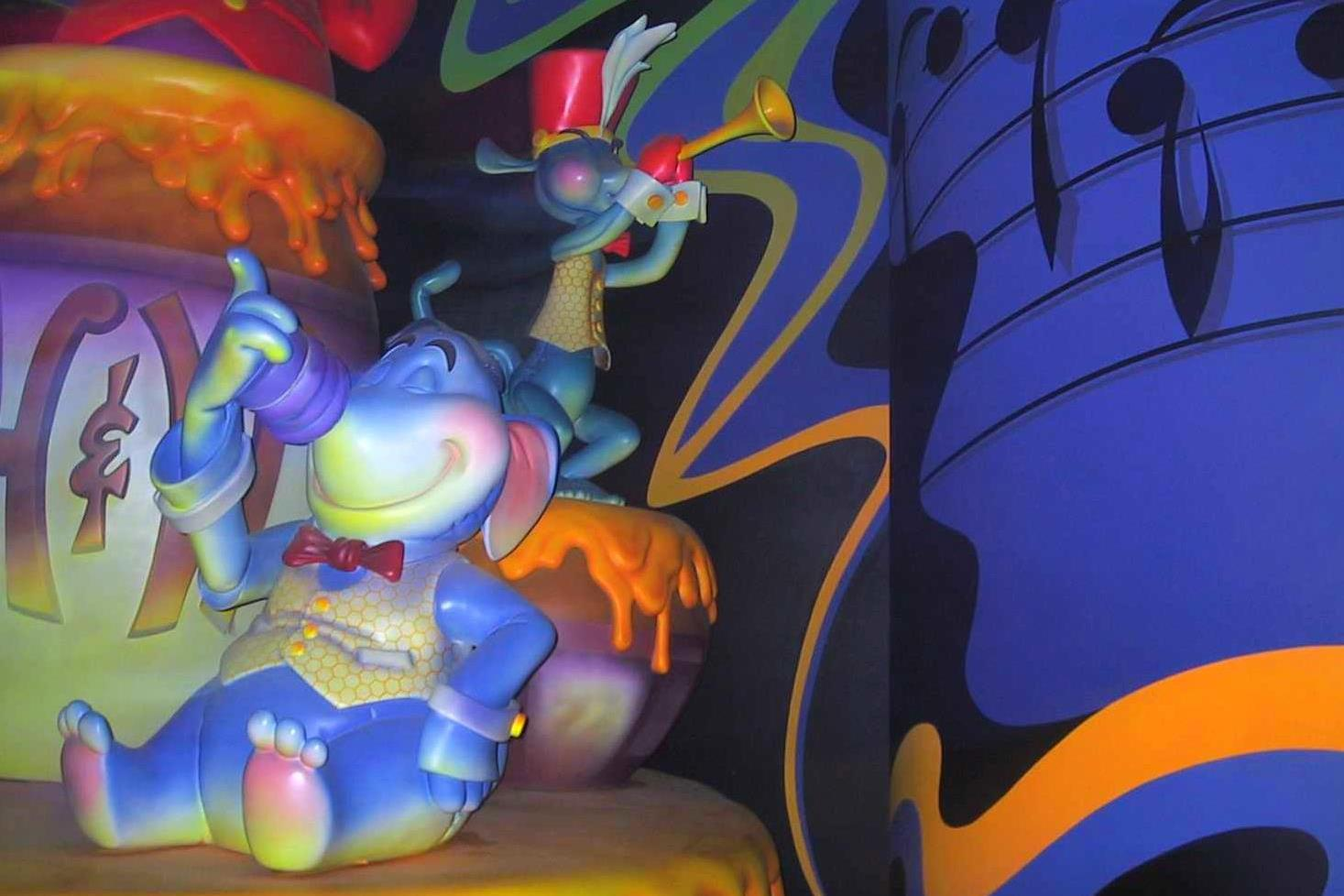 Pooh's Hunny Hunt - Tokyo Disneyland  Tokyo, Japan