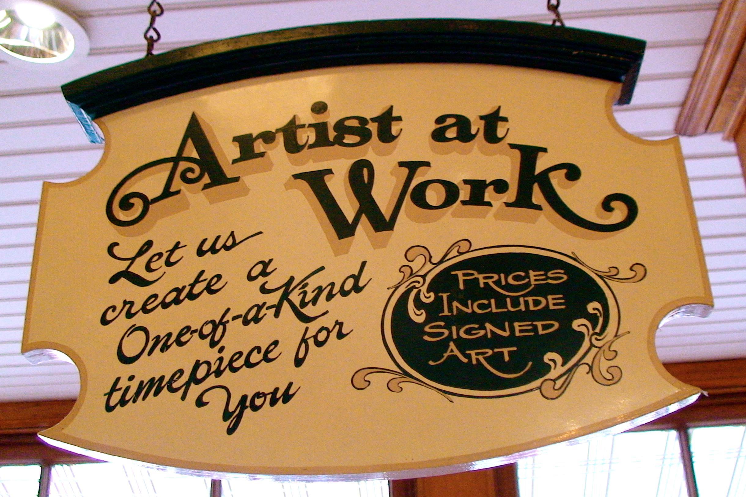 Disney Artisan Watch - Disneyland  Anaheim, CA