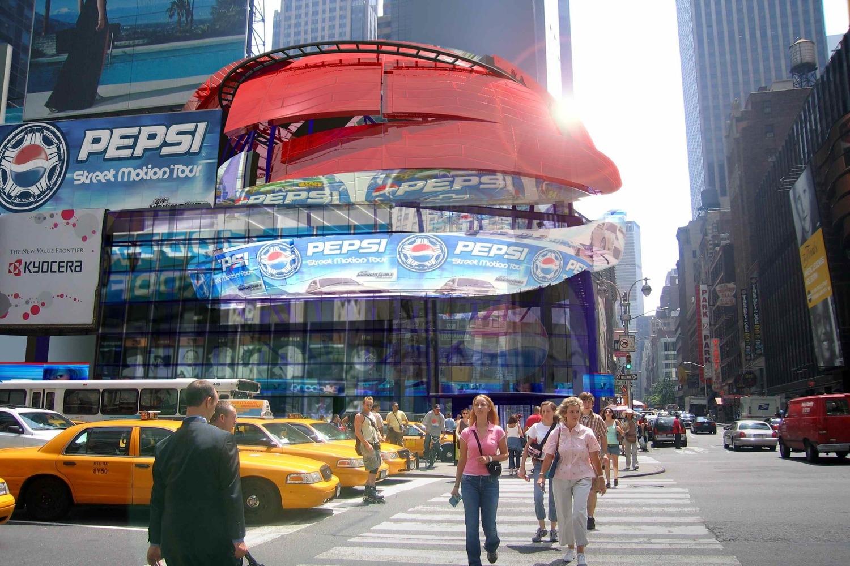 """P3"" Pepsi Entertainment Center  Times Square, NYC"