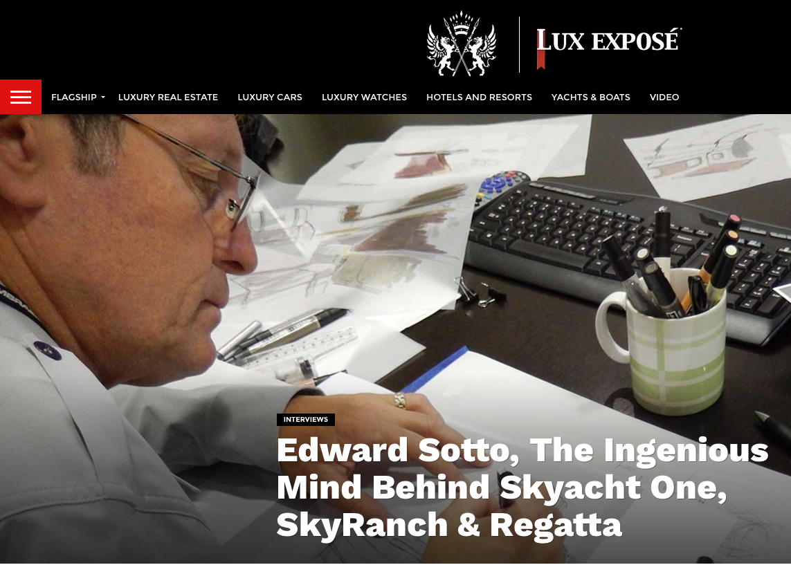 """Eddie Sotto discusses the """"what"""", """"the wow"""" and the """"why not?"""" of three extraordinary projects."""