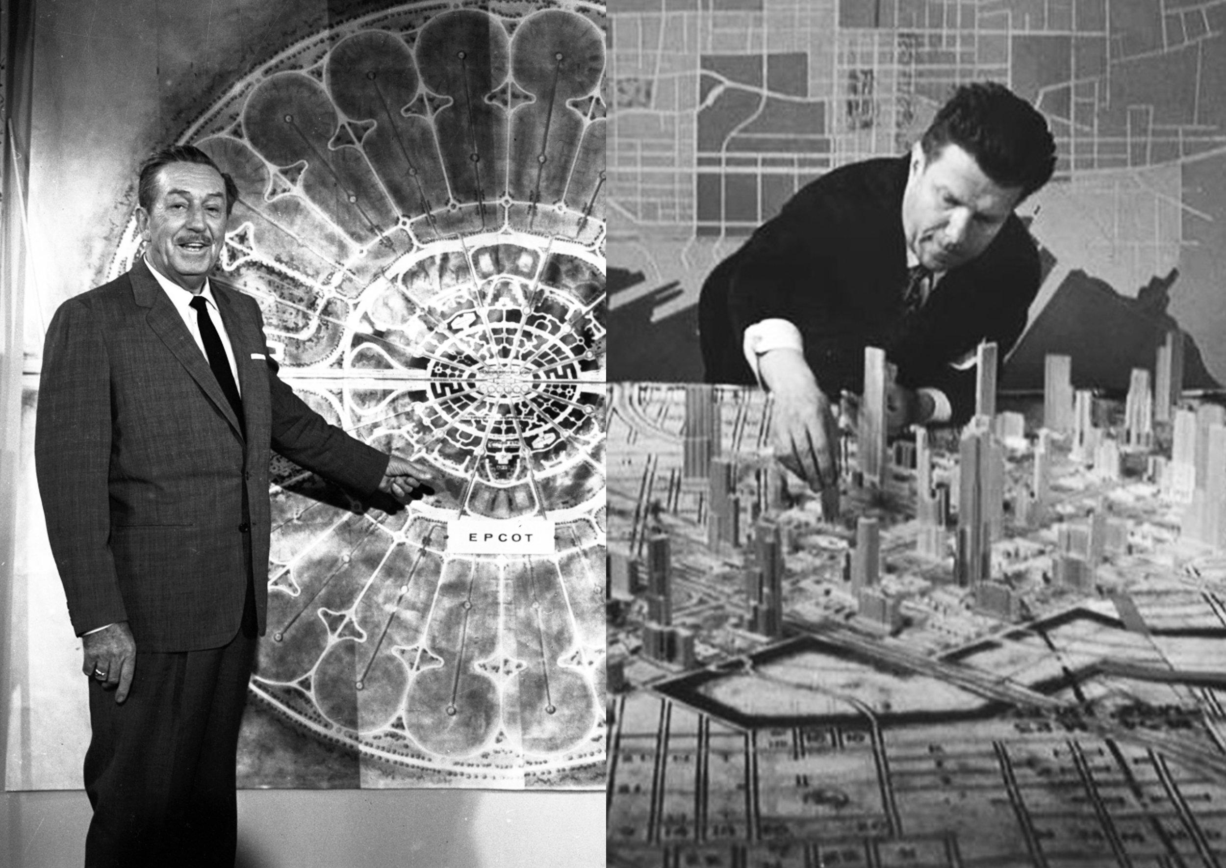 Walt Disney Norman Bel geddes