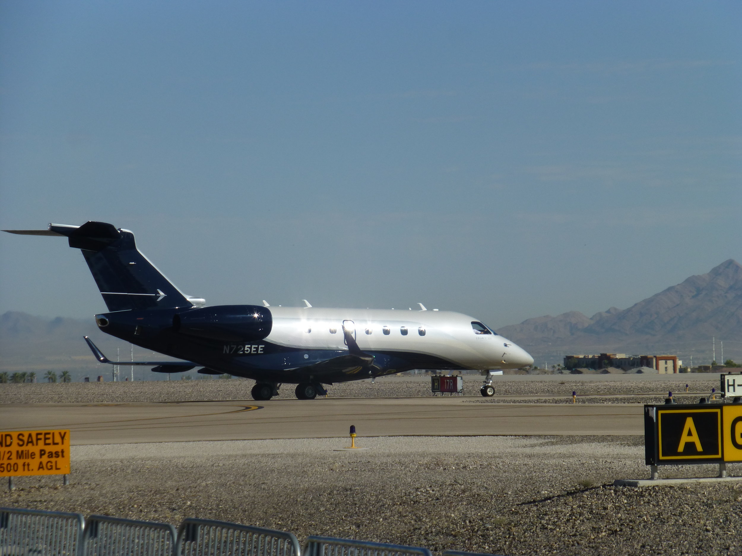 Legacy 500 test flight
