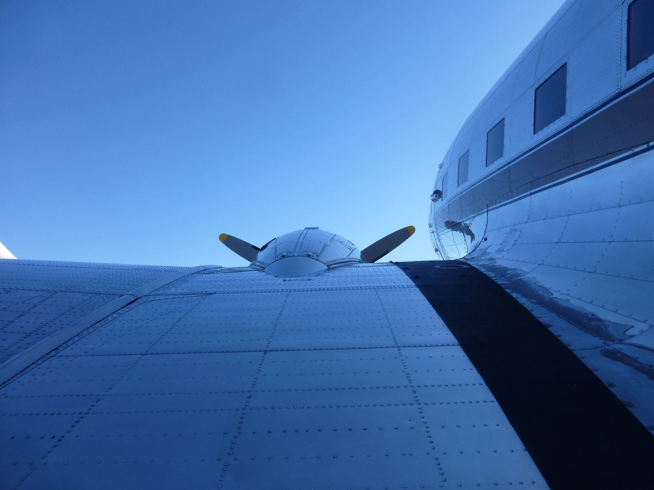 Exposed detail. DC 3 1946