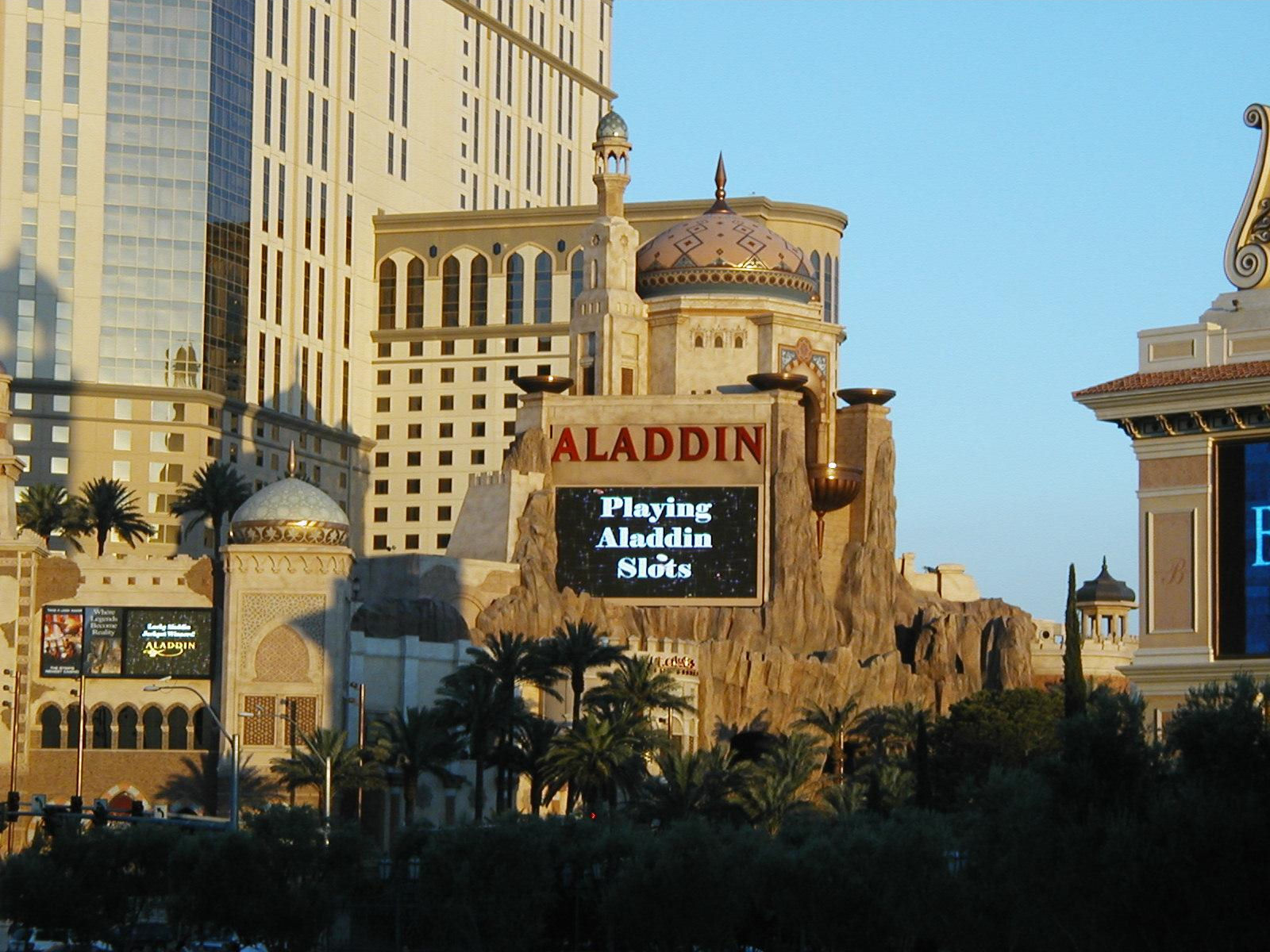Eliminating the Aladdin identity and adding a new one. How do you economically deal with so much demolition?