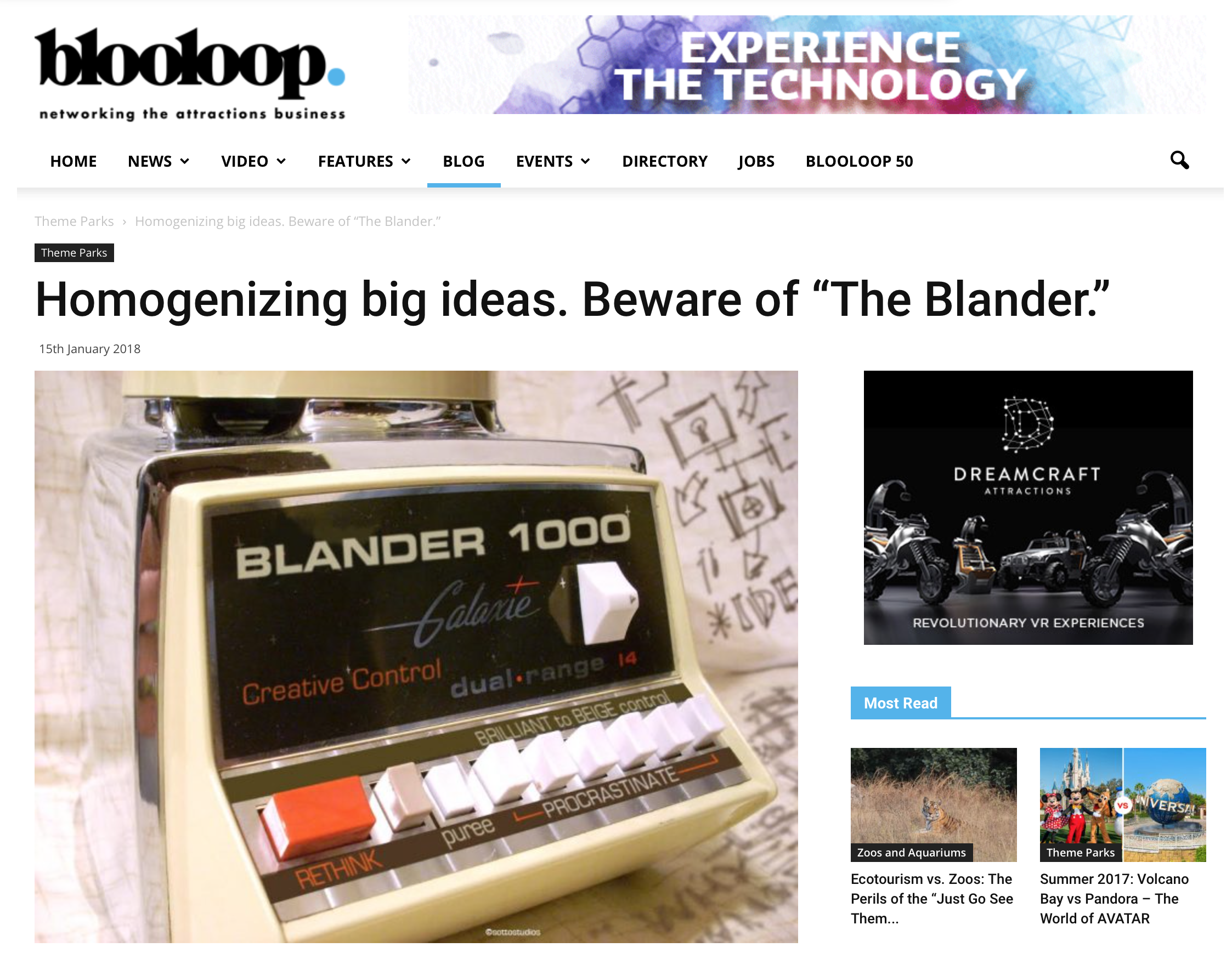CLICK ON THE IMAGE TO READ THE ARTICLE ON BLOOLOOP.