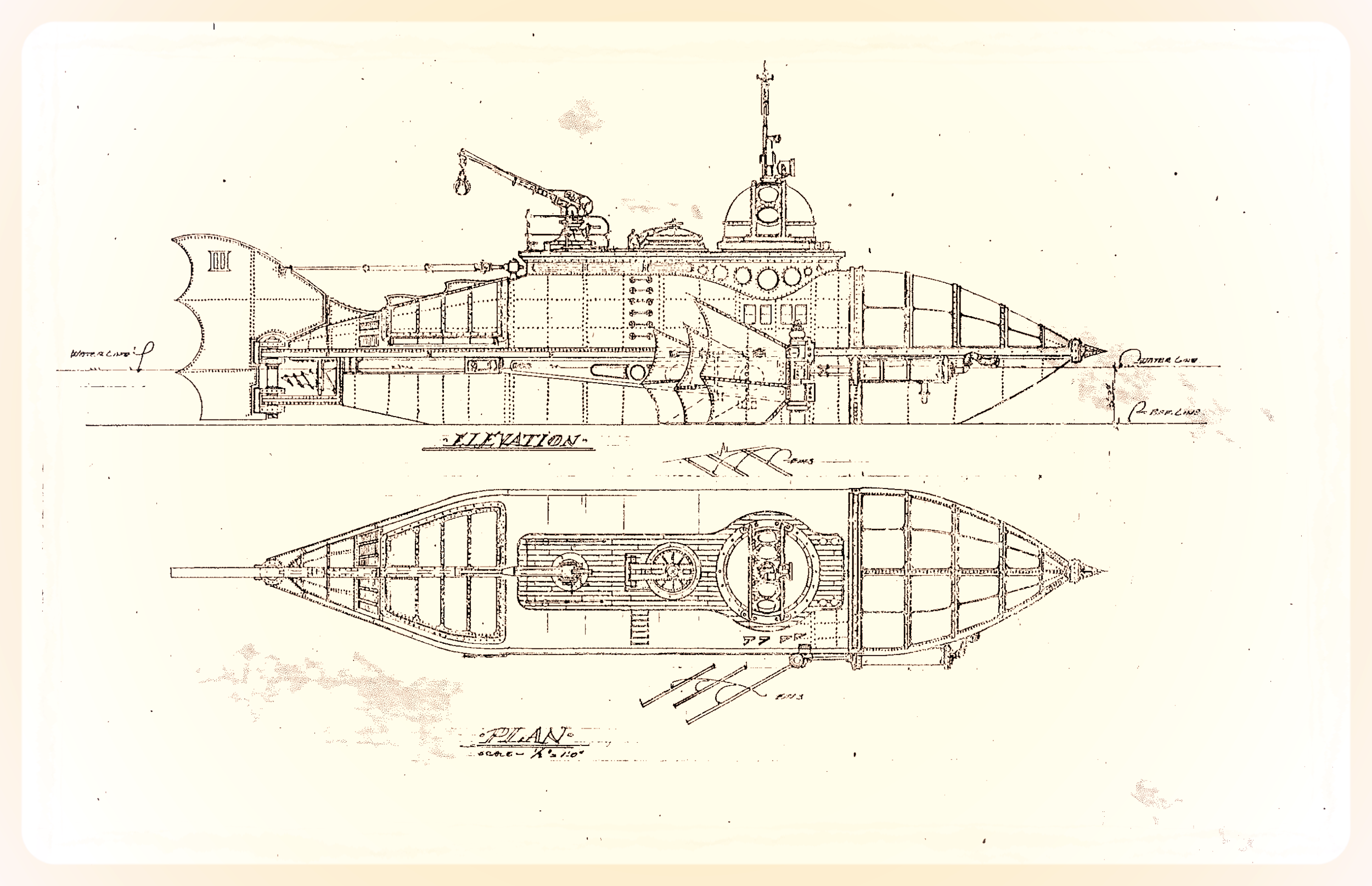 Ed Sotto's original design drawing.