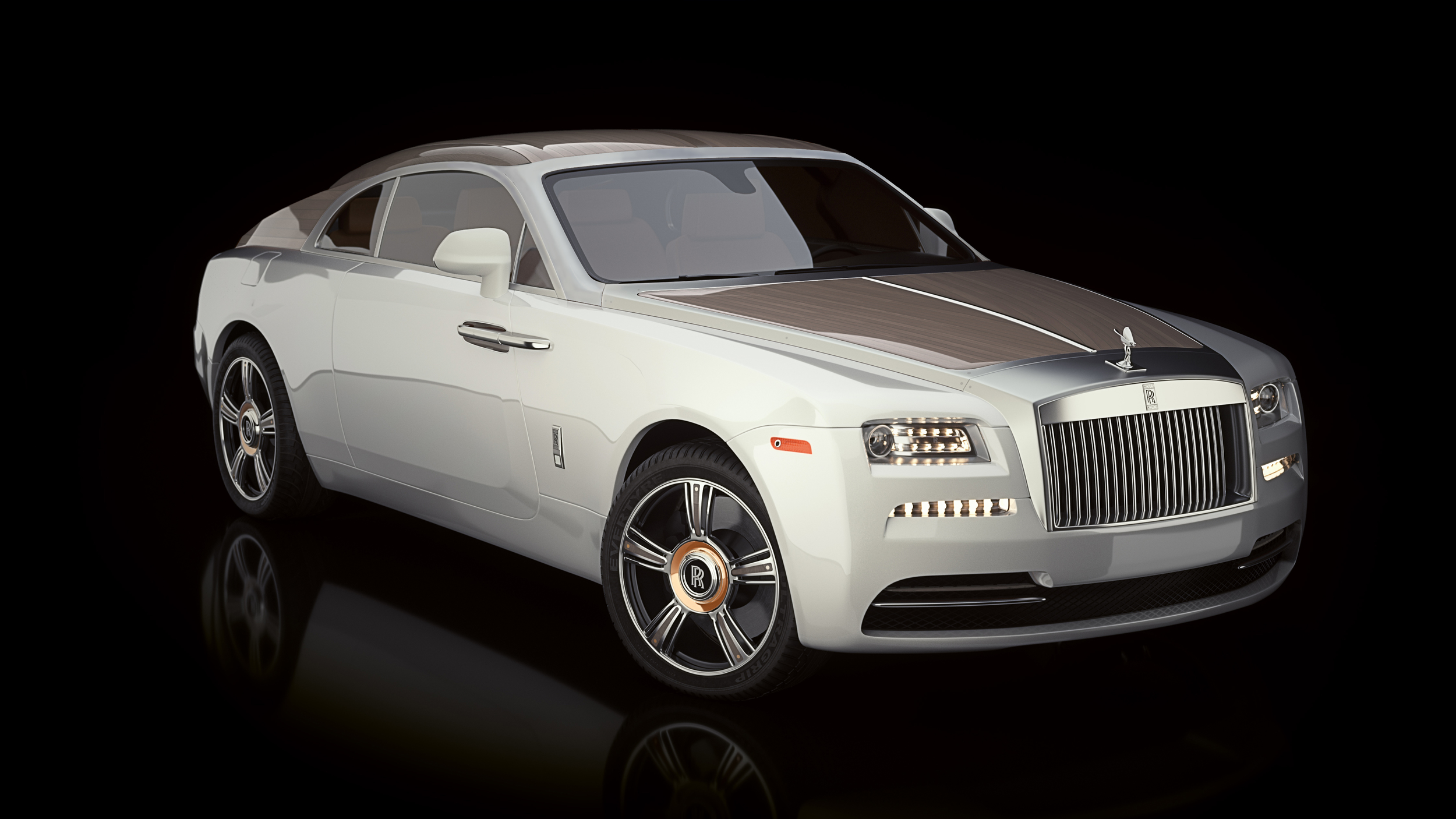 """Another venture into the ultimate experience is the yacht inspired   Rolls-Royce Wraith dubbed """"Regatta"""""""