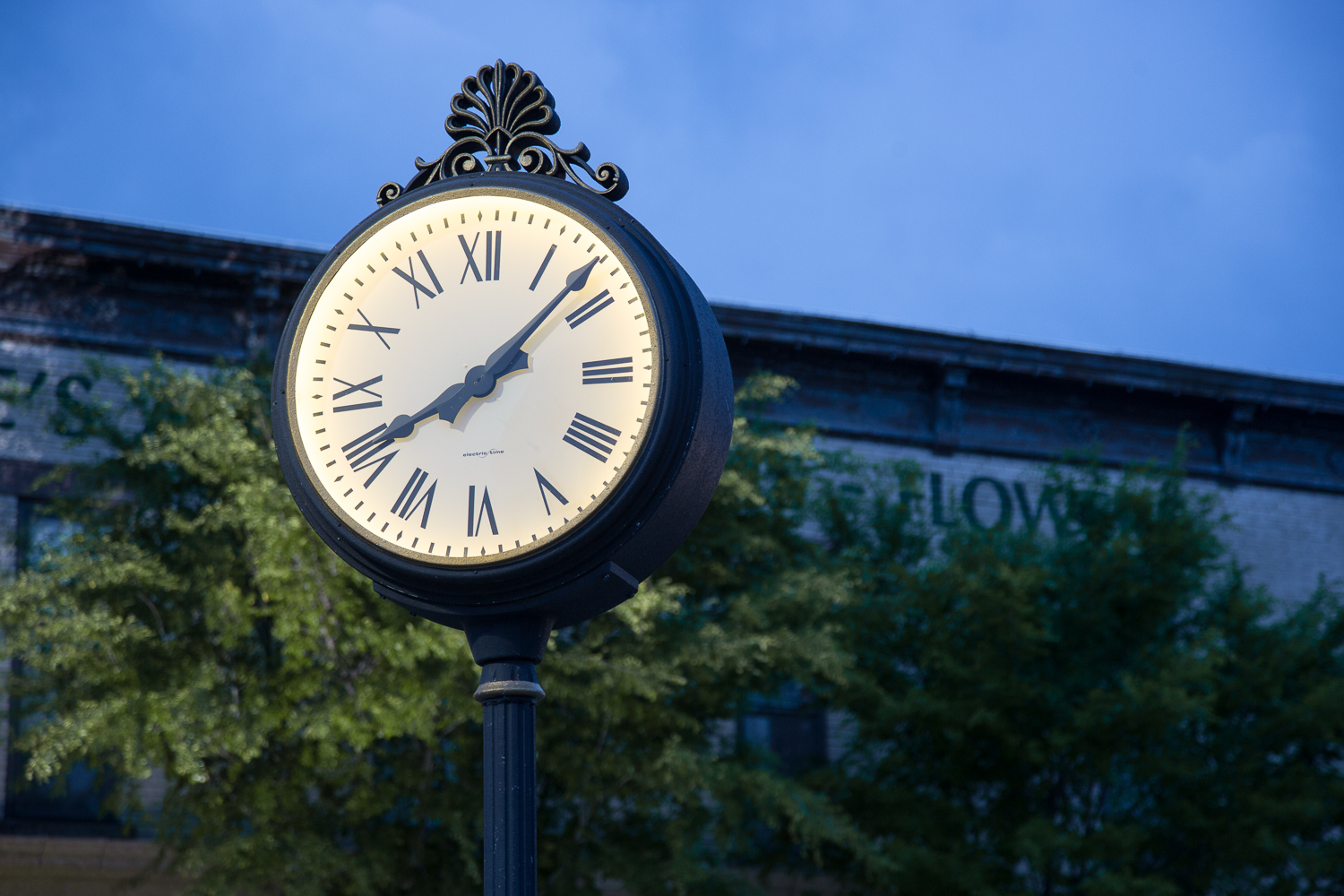 downtown lee's summit clock - commercial photographer - www.anthem-photo.com.jpg