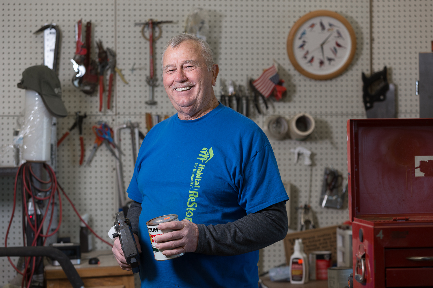 Habitat for Humanity and ReStore - Buddy Caton